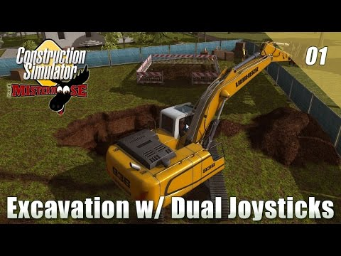 Construction Simulator 2015 - Ep01 - Excavation