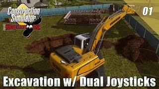 Construction Simulator 2015 - Ep01 - Excavation