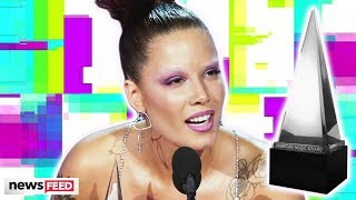 Halsey SHADES Grammys In AMAs Acceptance Speech!