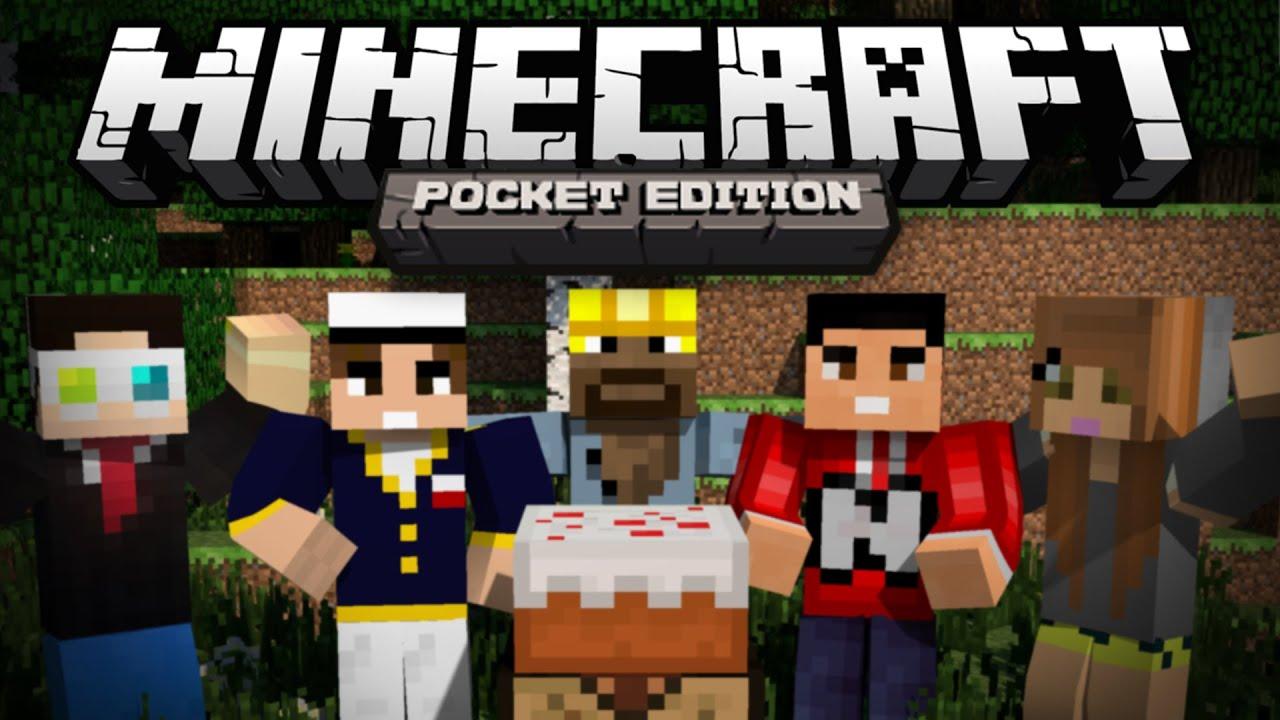 Minecraft Spielen Deutsch Skins Para Minecraft Pe Youtuber Bild - Spielaffe minecraft pocket edition