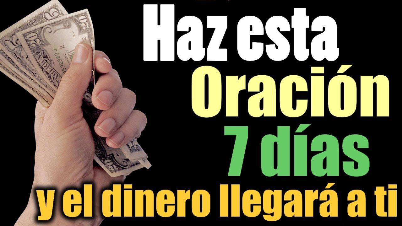 HAZ ESTA ORACIÓN 7 DÍAS y EL DINERO LLEGARÁ a TUS MANOS 💵💰✨ Verás lo que Pasa!!