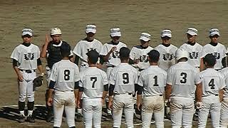 2017年9月18日 阿久比球場 高校野球 秋季 愛知県大会2回戦 ベスト16に進出.