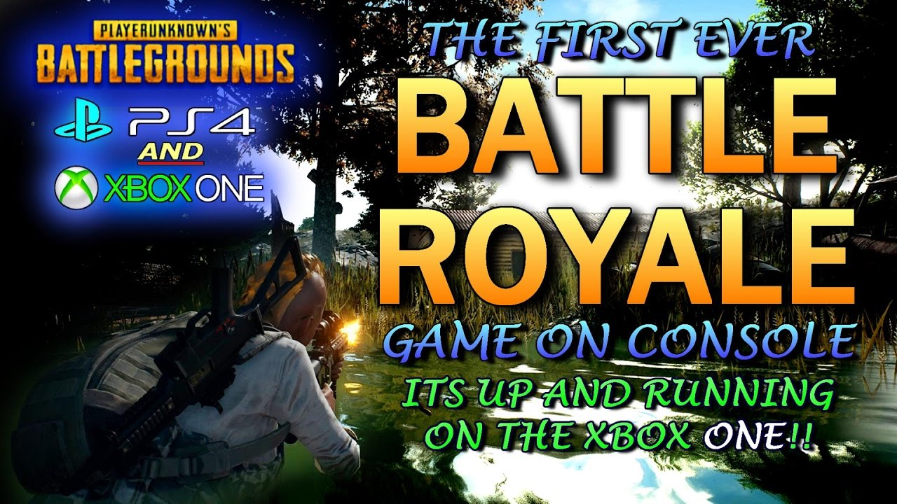 PlayerUnknown's Battlegrounds is coming as a console launch exclusive on Xbox One
