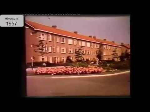 Hilversum gefilmd in 1957