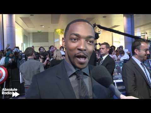 Anthony Mackie (Falcon) Interview - Captain America: The Winter Soldier Premiere