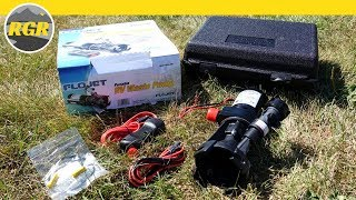 Flojet Portable RV Waste Pump / Macerator | Product Review | Empty Your RV Tanks Easily