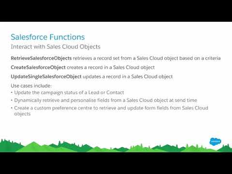 Salesforce Marketing Cloud Advanced AMPscript