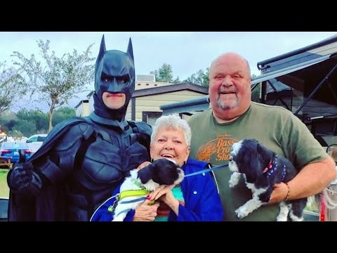 David Fisch - Guy Dressed As Batman Saves Shelter Pets From Euthanasia