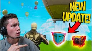 NEW CHEST / SUPPLY DROP UPDATE in Fortnite Battle Royale!
