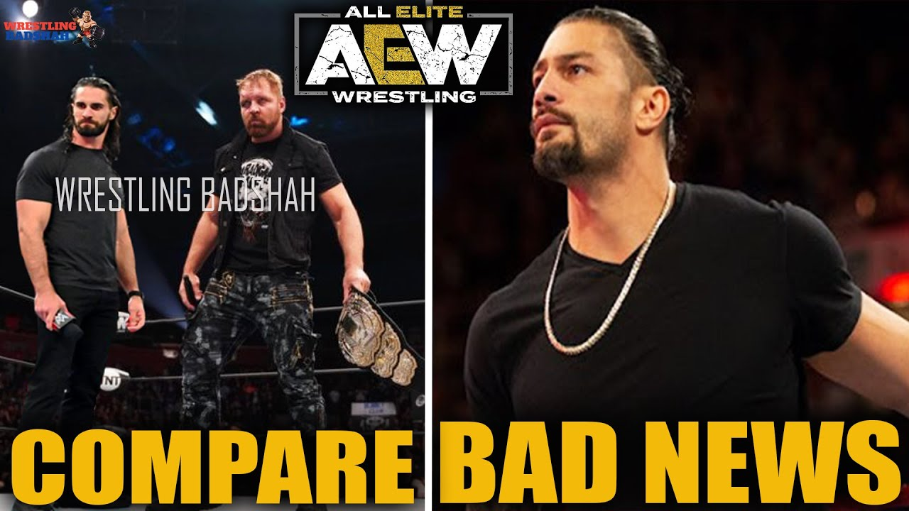 *BAD NEWS* for Roman Reigns!! Seth Rollins needs to be like AEW Champion Jon Moxley!!