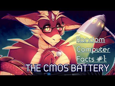 Random Computer Facts #1   The CMOS Battery