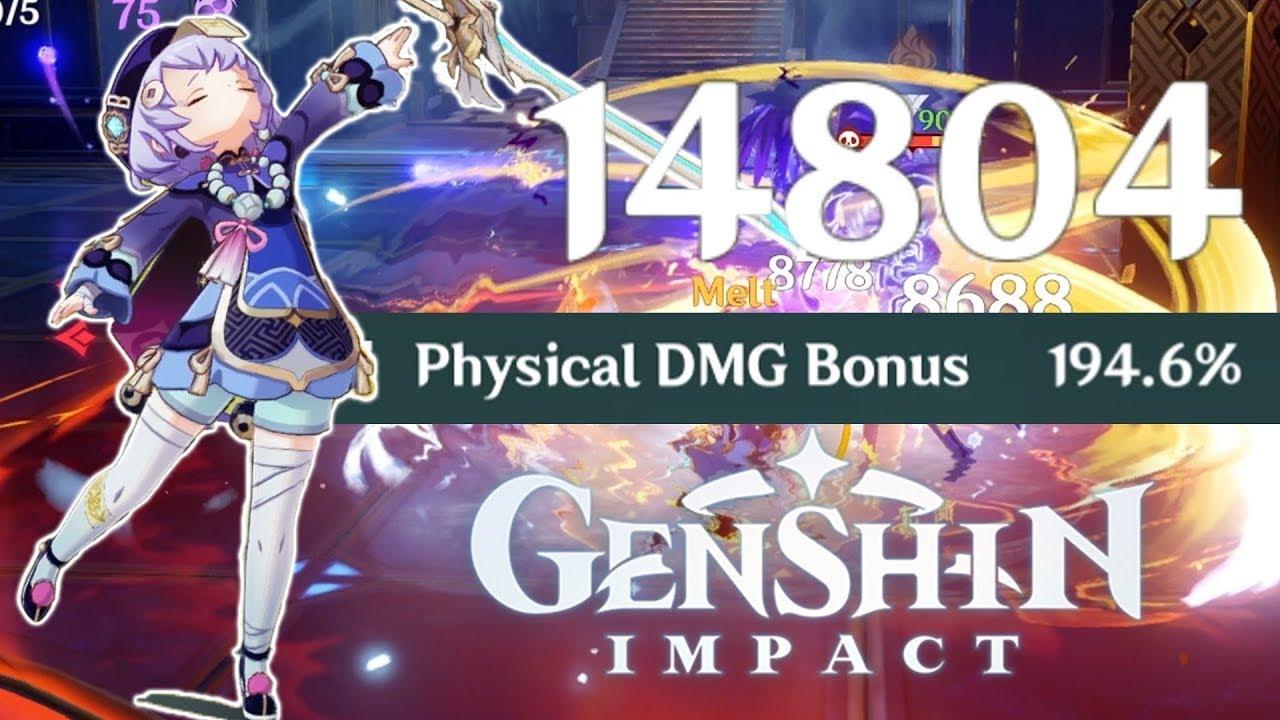 DPS QIQI IS NO JOKE Genshin Impact