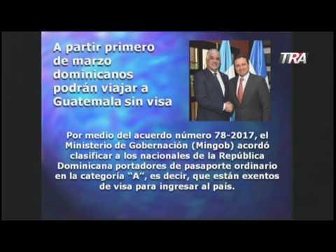 Duvernay comenta no se necesita visa para Guatemala