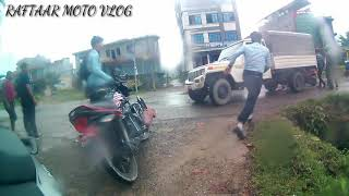 LIVE ACCIDENT at khaireni II kalika's 12 guyz II Butwal