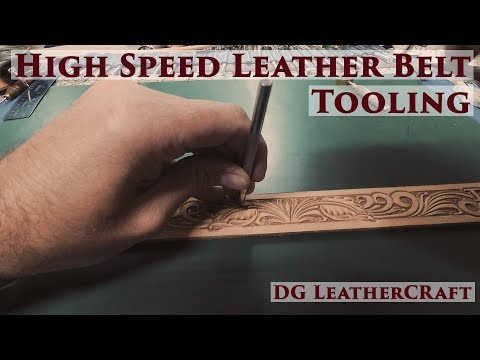 High Speed Leather Belt Tooling