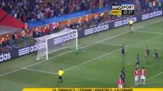 España 1-0 Paraguay World cup 2010