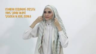 Tutoria Hijab Persegi