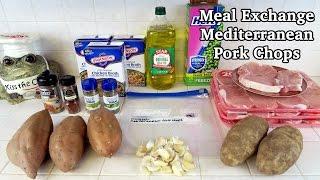 Crock Pot Frozen Meal Exchange - Mediterranean Pork Chops