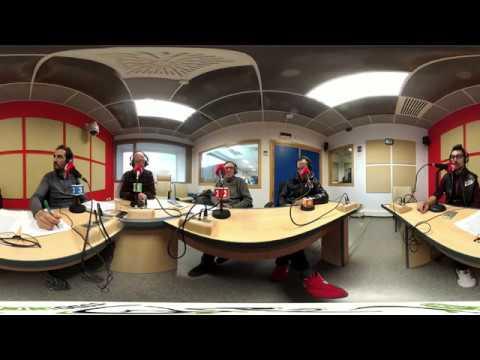 Hilario Redondo y Jorge Ferrer en UPV Radio con Massi-Kuwait