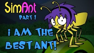 Let's Play SimAnt! part 1 - I Am the BEST Ant!