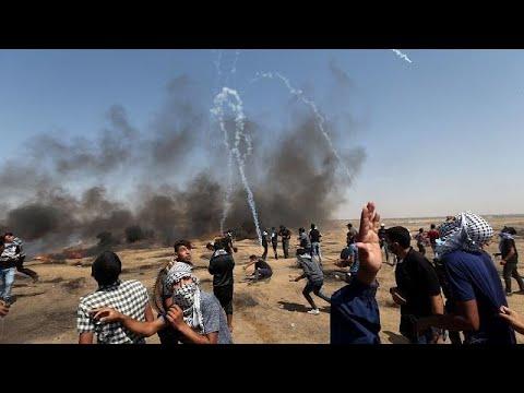 مقتل 3 فلسطينيين في مواجهات مع الجيش الإسرائيلي على حدود غزة…  - 03:21-2018 / 6 / 9
