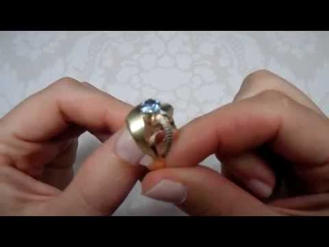 Collection of 9 Vintage Bohemian European Gold Rings circa 1950-1980