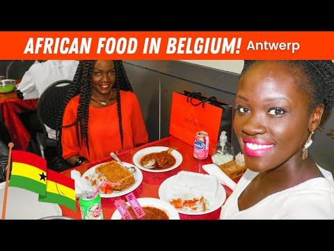 EP #76   ANTWERP - LOCAL MUSEUM, GHANIAN JOLLOF RICE / FOOD & WINE - TRAVEL JOURNEY VLOG!