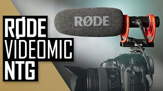 RODE VideoMic NTG Review