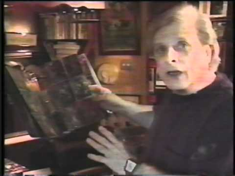 Author and Screenwriter Harlan Ellison Rants about Non Sport Trading Cards