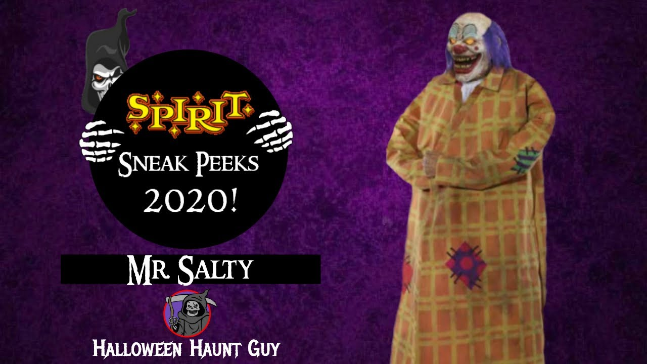 Mr. Salty | Spirit Halloween 2020 Sneak Peeks