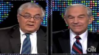 Larry King: Ron Paul V Barney Frank (12.17.09)