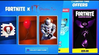 FORTNITE X IT 2 and PACK DARKFIRE in Fortnite!
