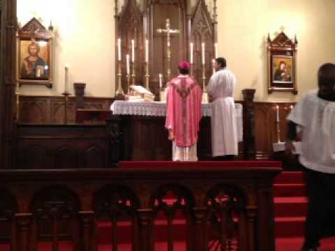 Fourth Sunday Holy Mass at St James Anglican Church, kansas