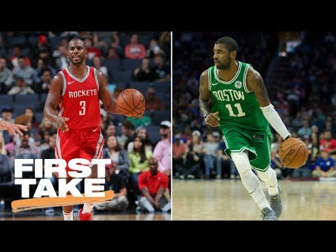Who has most pressure in NBA?  Stephen A. says Chris Paul, Max says Kyrie Irving | First Take | ESPN