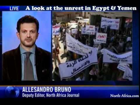 Growing Unrest in Egypt and Yemen
