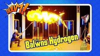 Ffrwydro Balwns Hydrogen⚠️ | BOOM! | Welsh Science Hydrogen Baloon Explosion