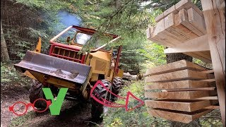 FELLING, SKIDDING, AND MILLING TREES : From forest to workshop