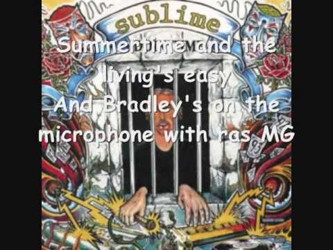Sublime- Doin' Time (Summertime) Lyric Video