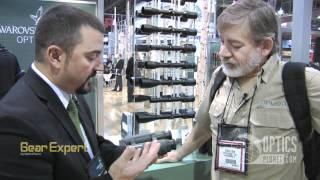 swarovski el range 8x42 10x42 rangefinder binoculars shot show 2012