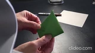 STAR WARS DAY Easy Origami Yoda