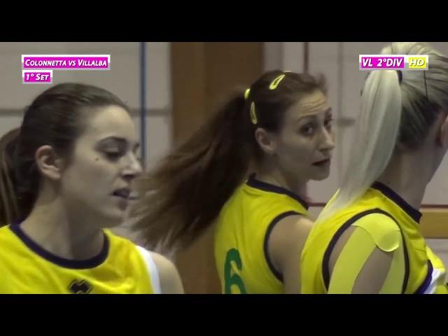 Colonnetta vs Villalba - 1° Set