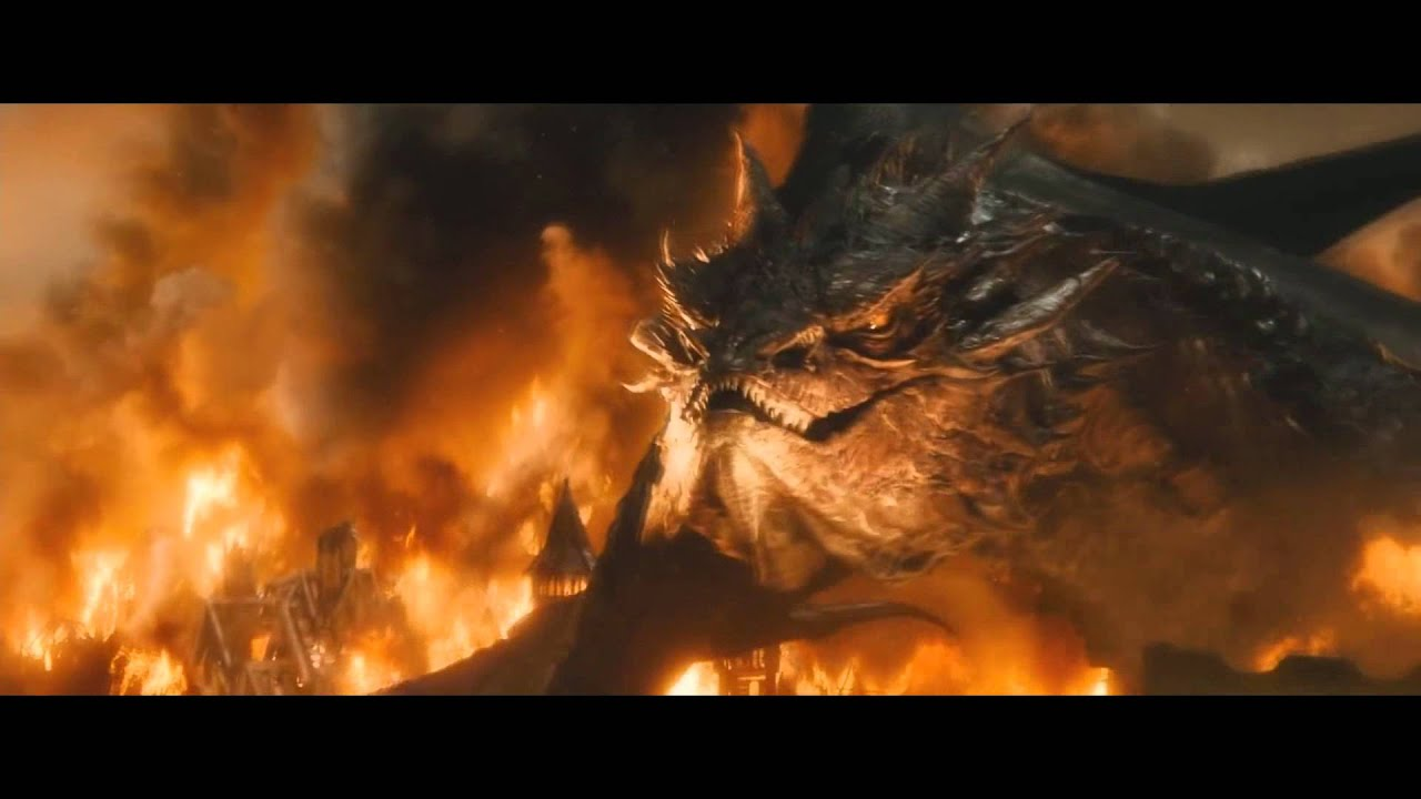 image gallery smaug fire