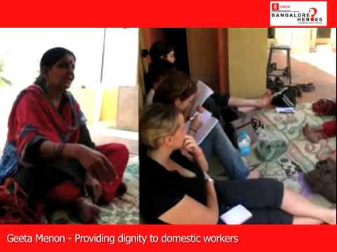 Geeta Menon - A Bangalore Hero