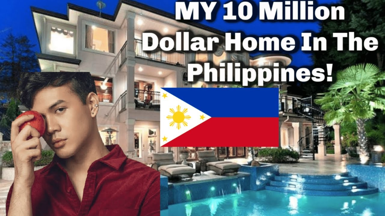 My 10 Million Dollar Home In The Philippines!