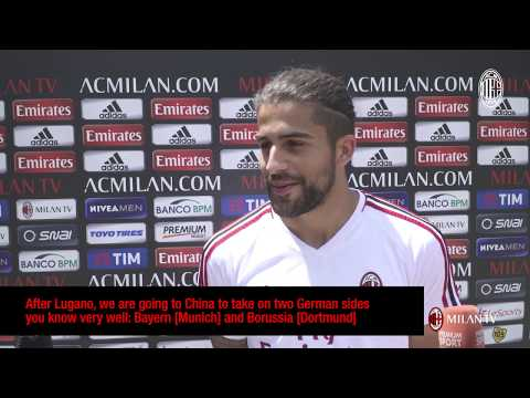 "Ricardo Rodriguez: ""I'll give everything for AC Milan"""