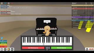 How to play 'abc' and 'Twinkle Twinkle' on the piano|Roblox Got Talent