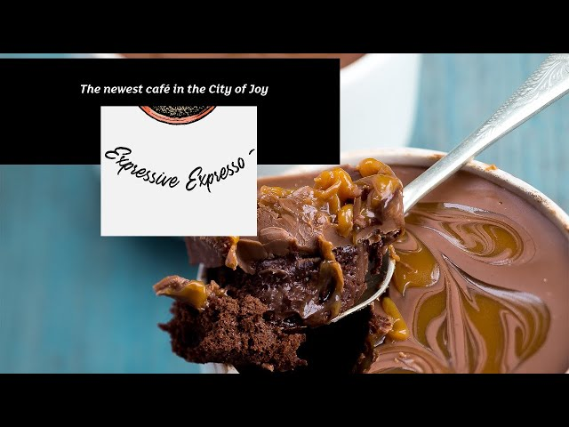 Expressive Expresso - The Newest Café in The City of Joy
