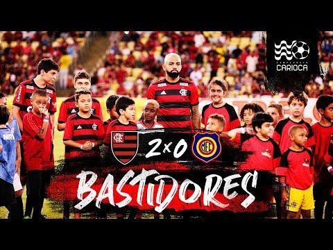 No embalo de Nego Ney, Flamengo vence o Madureira por 2 a 0. Bastidores