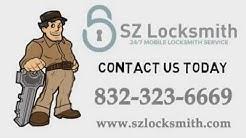 SZ Locksmith in Houston TX (832) 323-6669  24/7 Locksmith Service