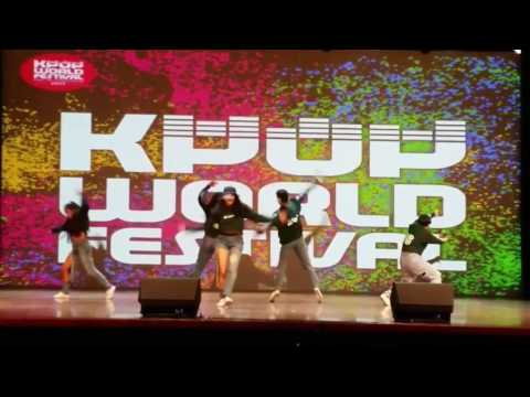 Kpop World Festival 2017 Costa Rica - No Name Dance Group - Rhythm ta / Really Really